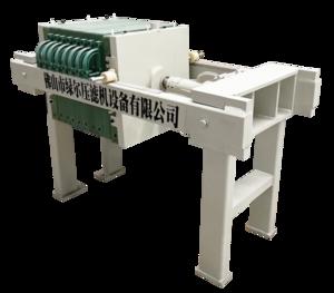 500型手动厢式压滤机(机械压紧)